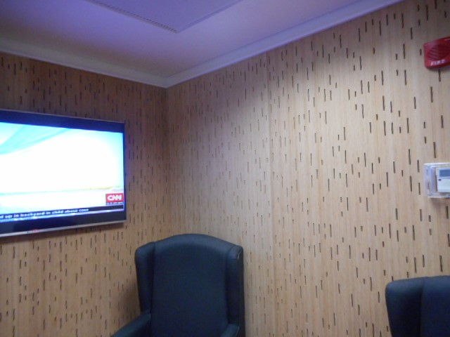 acoustic bamboo wall lining