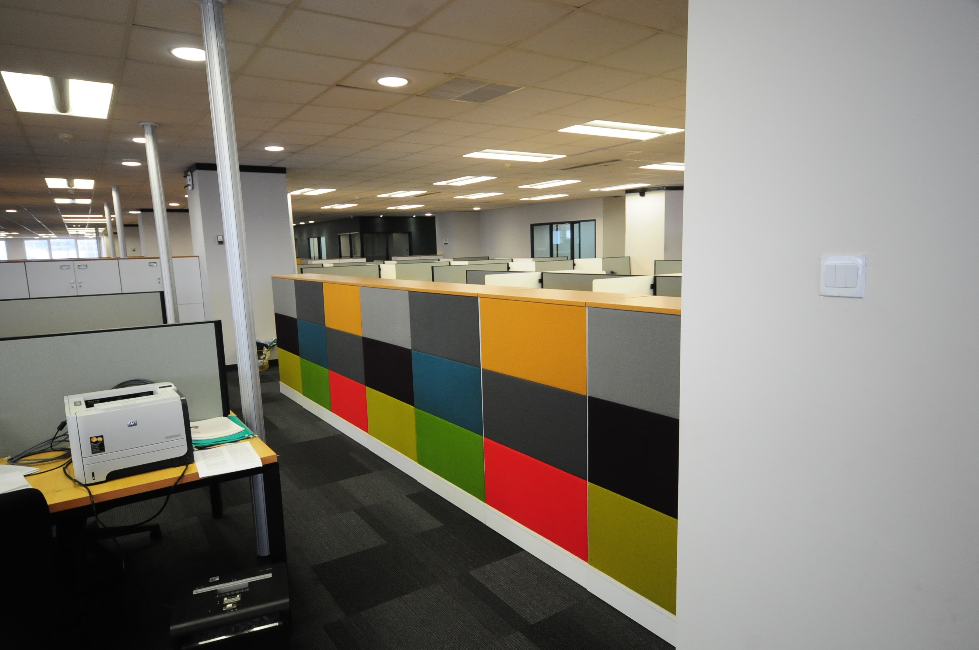 Acoustic lining panel