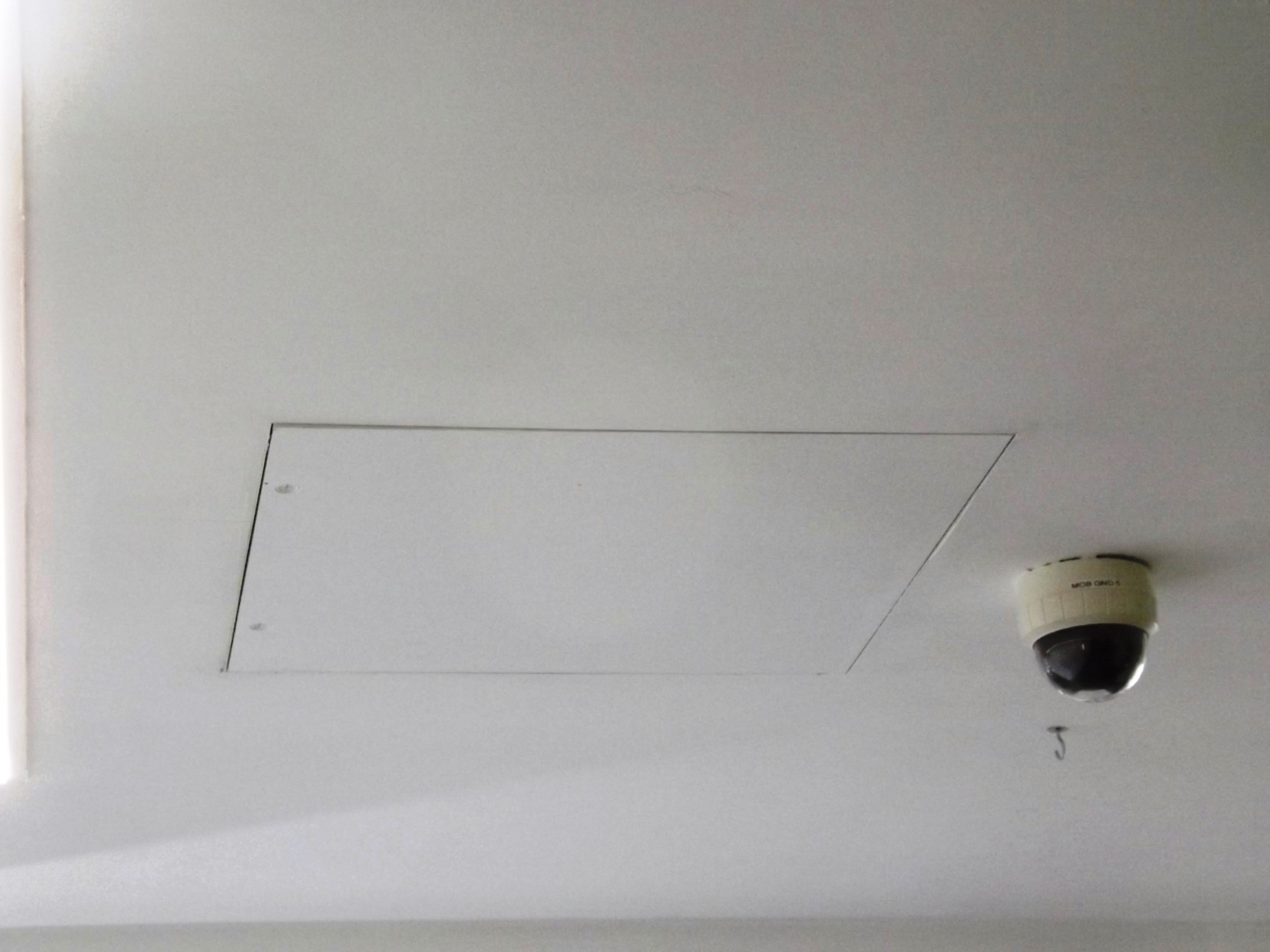 Ifuba fire ceiling hatch.