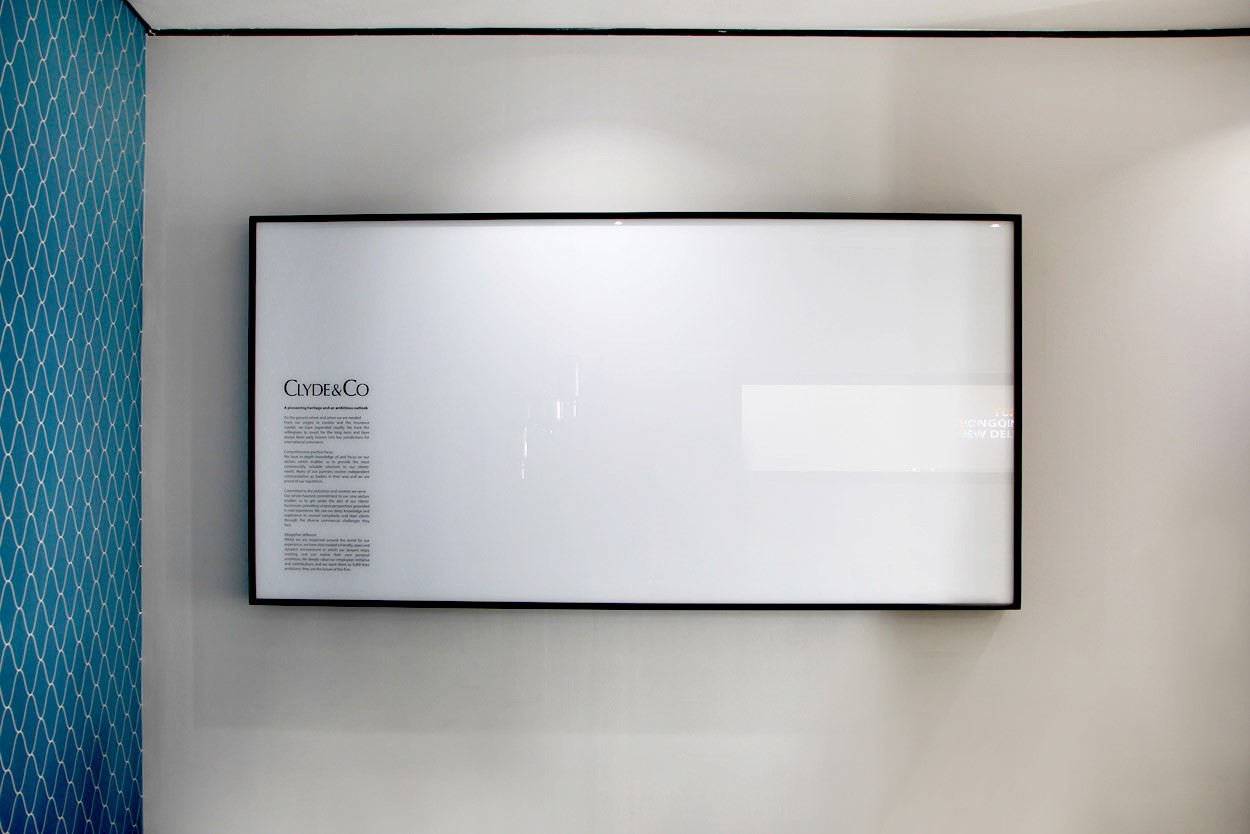 vicinity framed white board